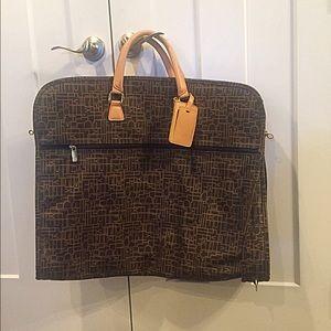 RARE Diane Von Furstenburg Garmet bag with keys